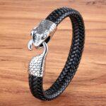 Bratara leather snake